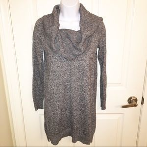 Express cowl neck marled sweater